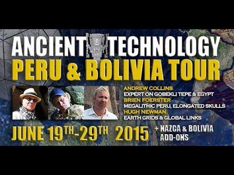 'Ancient Technology Peru And Bolivia Tour' - June 2015