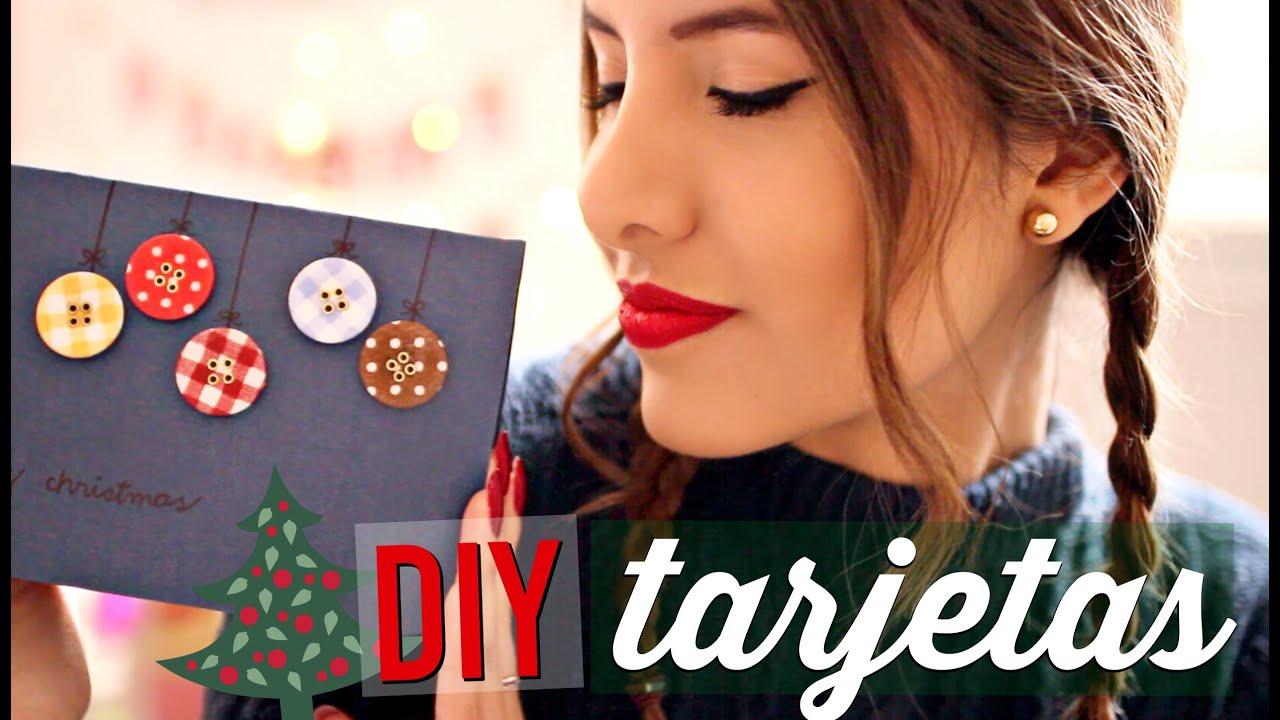 DIY: TARJETAS DE NAVIDAD | Valeria Basurco