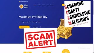 Regal Miner Scam Review - Scam Busted