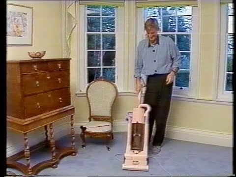 THIS MORNING VACUUM CLEANERS 1990's JAMES DYSON