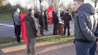 Naziaufmarsch in Remagen am 22.11.2014