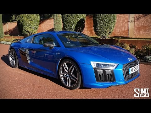 My First Drive in the New Audi R8 V10 Plus [Shmee