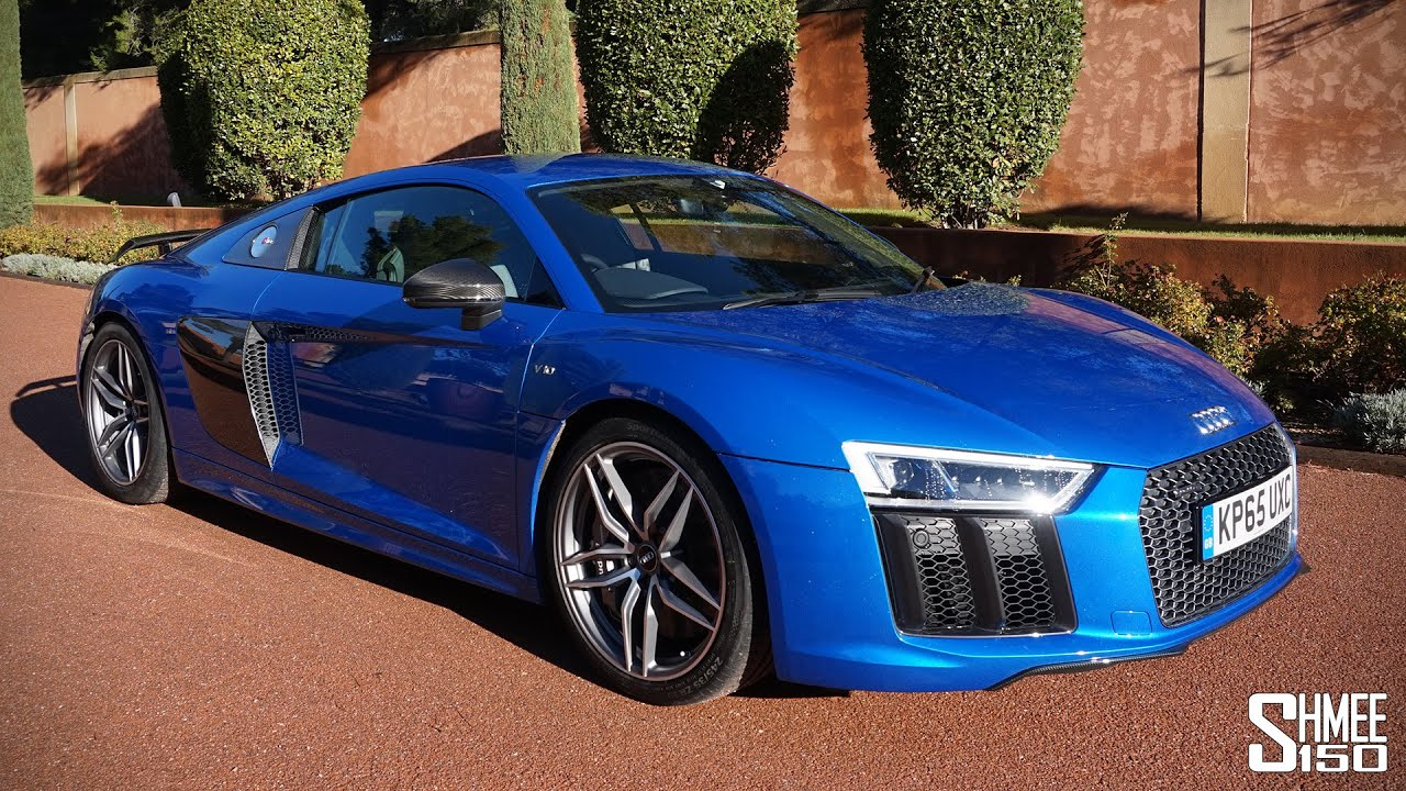 My First Drive in the New Audi R8 V10 Plus [Shmee's Adventures ...