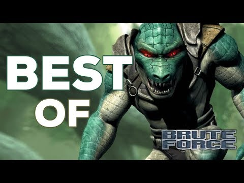 BEST OF Brute Force (Xbox) | FUNNY Moments Montage