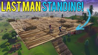 Shopping Cart LAST MAN STANDING WINS Game In Fortnite Battle Royale!