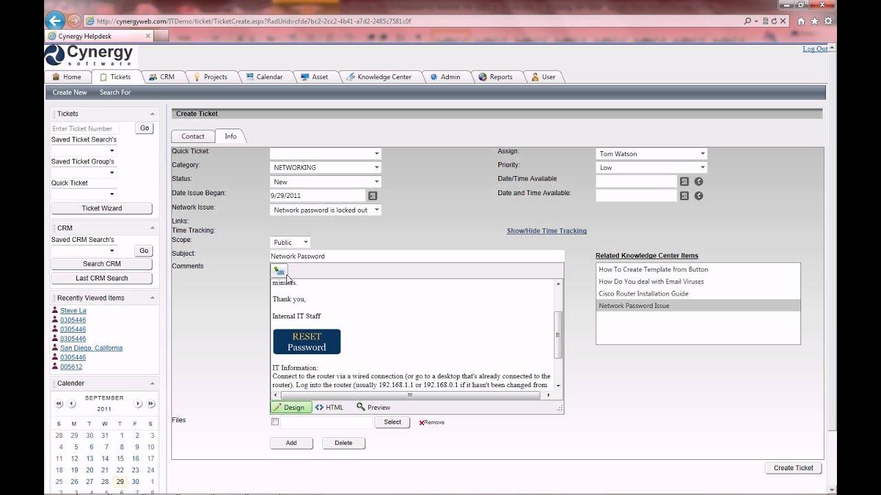 Best Help Desk Ticketing System - YouTube