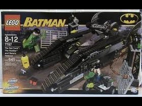 LEGO Batman The Bat-Tank: The Riddler and Bane's Hidout ...