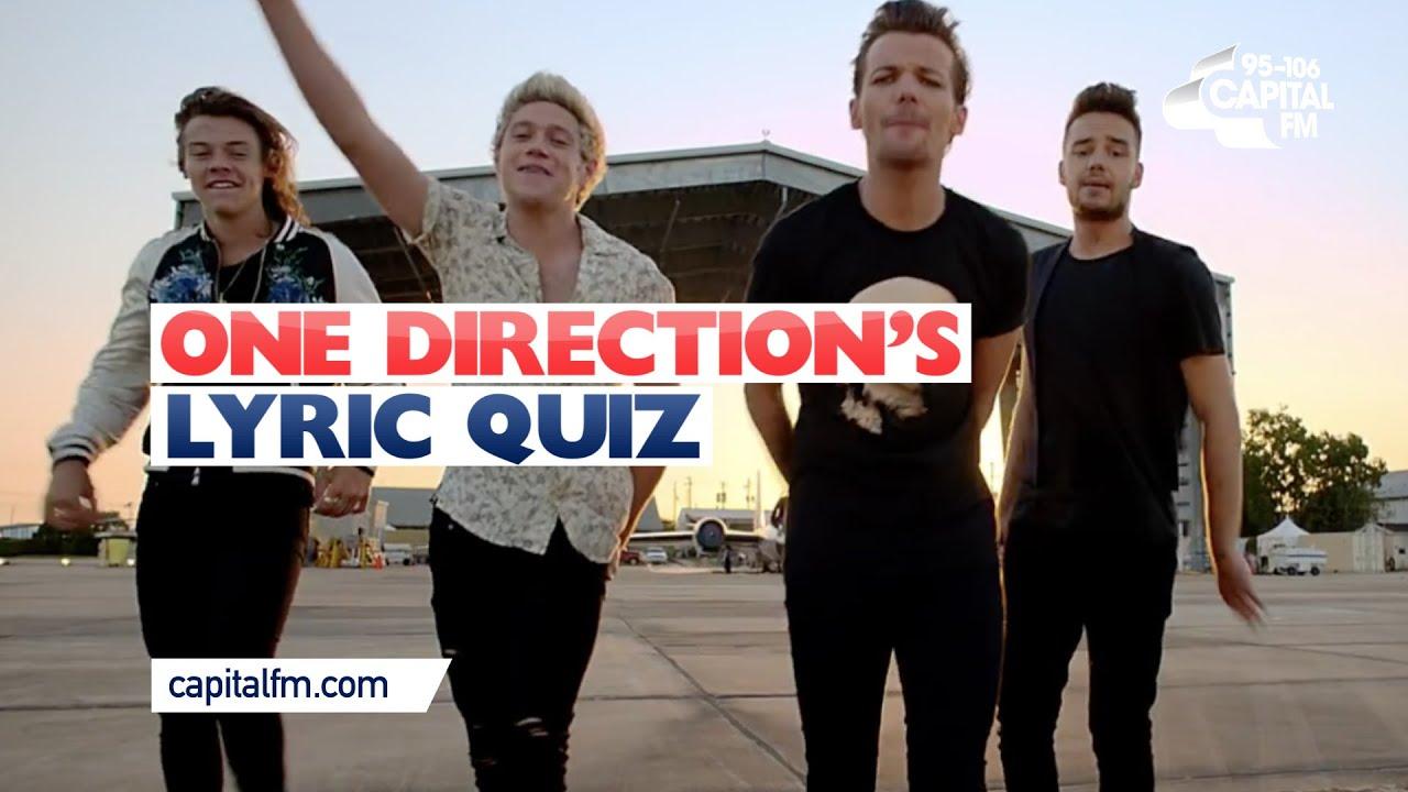 One Direction Lyric Quiz!