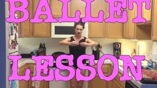 LEARN BALLET: Beginner class!  (with Miranda)