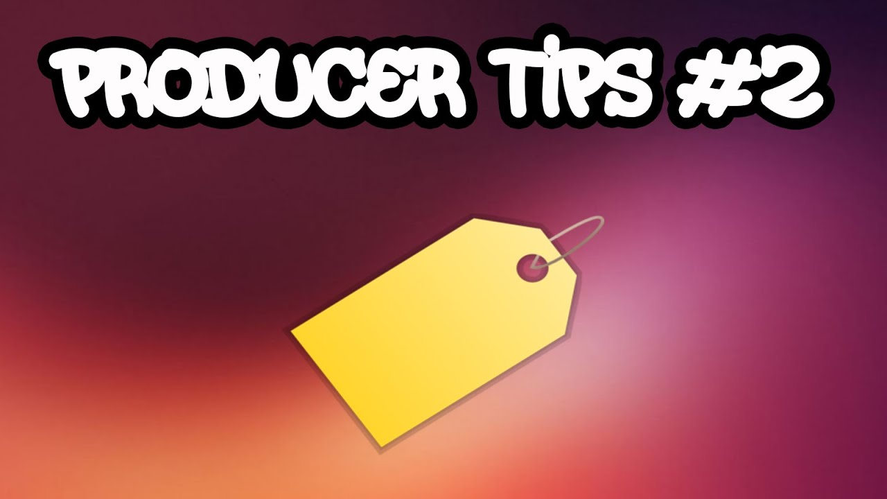PRODUCER TIPS #2: How to make a free producer tag