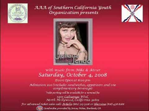Juliana Jendo - Lambada -  party in LA