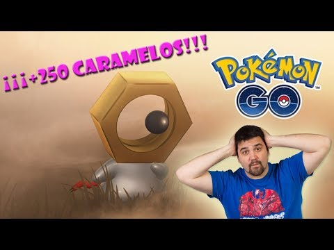 ¡TRUCO/CONSEJO como CONSEGUIR +250 CARAMELOS de MELTAN en Pokémon GO en el NUEVO EVENTO! [Keibron] thumbnail