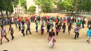 ICC T20 Flash Mob Bangladesh bank adarsha high school~1.mp4