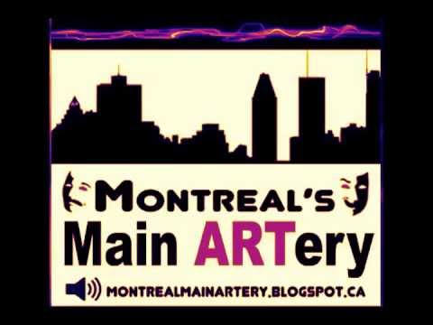 Holy Tranity! playwright Puelo Deir and actor Simon Therrien chat with Montreal's Main ARTery.