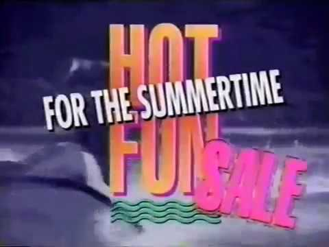 1990 Wherehouse Music Summer Commercials