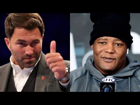 "EDDIE HEARN PROMISES TO EXPOSE LUIS ORTIZ ""I'M FED UP OF PEOPLE LYING ABOUT ANTHONY JOSHUA!"""