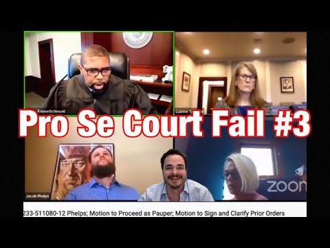 Pro Se Court Fail #3 - Sovereign Citizen?