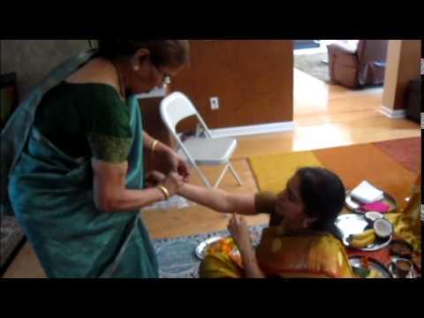 Varalakshmi Pooja in Jacksonville Home