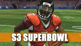 HERE WE ARE AGAIN - FALCONS FRANCHISE VS CHARGERS - MADDEN 07 - S3 SUPERBOWL