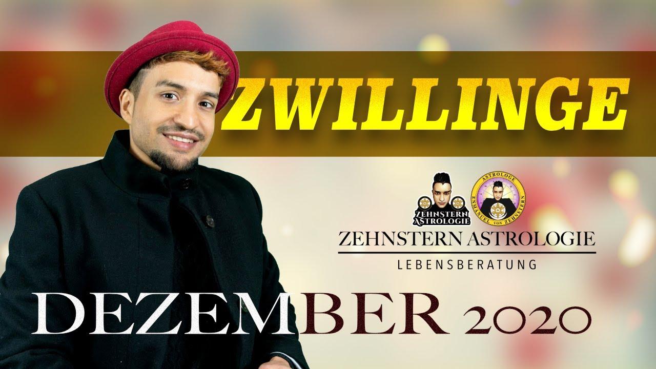 ZWILLINGE MONATSHOROSKOP DEZEMBER 2020 | #ZehnsternAstrologie.com