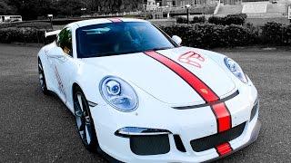 Porsche 991(911) GT3 iPE exhaust -Start up, Accelerations, Powerslide (1080P)