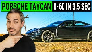 Porsche Taycan Will Compete with Tesla with 0-60 in 3.5 Seconds