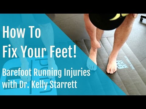 Barefoot Running injuries: How to Fix and Strengthen your Feet!