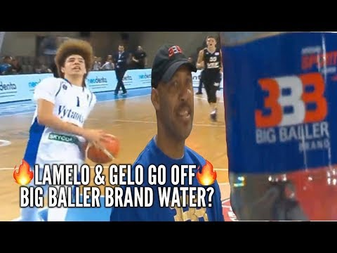 BBB LaMelo & LiAngelo Ball Go Off For 60+ Points BBB WATER Headed to Chino Hills?