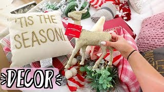 Christmas Decor Haul!! Biggest Target Haul EVER! AlishaMarieVlogs