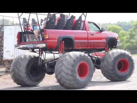 TNT Monster Truck at Pittsburgh Pennsylvania Motor Speedway's Monster Mania Event