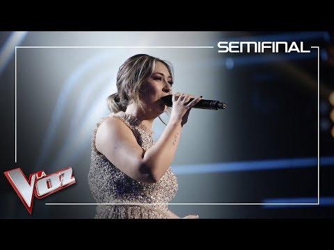 María Espinosa canta 'Uno x uno' | Semifinal | La Voz Antena 3 2019