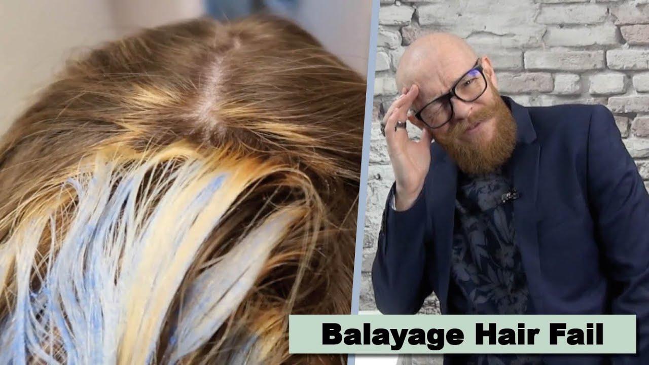 Balayage Bleach Fail - Hair Buddha reacts