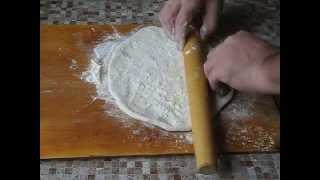 Тесто для мантов, домашней лапши, пельменей