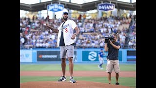 Anthony Davis Meets the Dodgers   Lakers