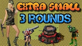 3 rounds EXTRA SMALL map Red Alert 2 Yuri's Revenge