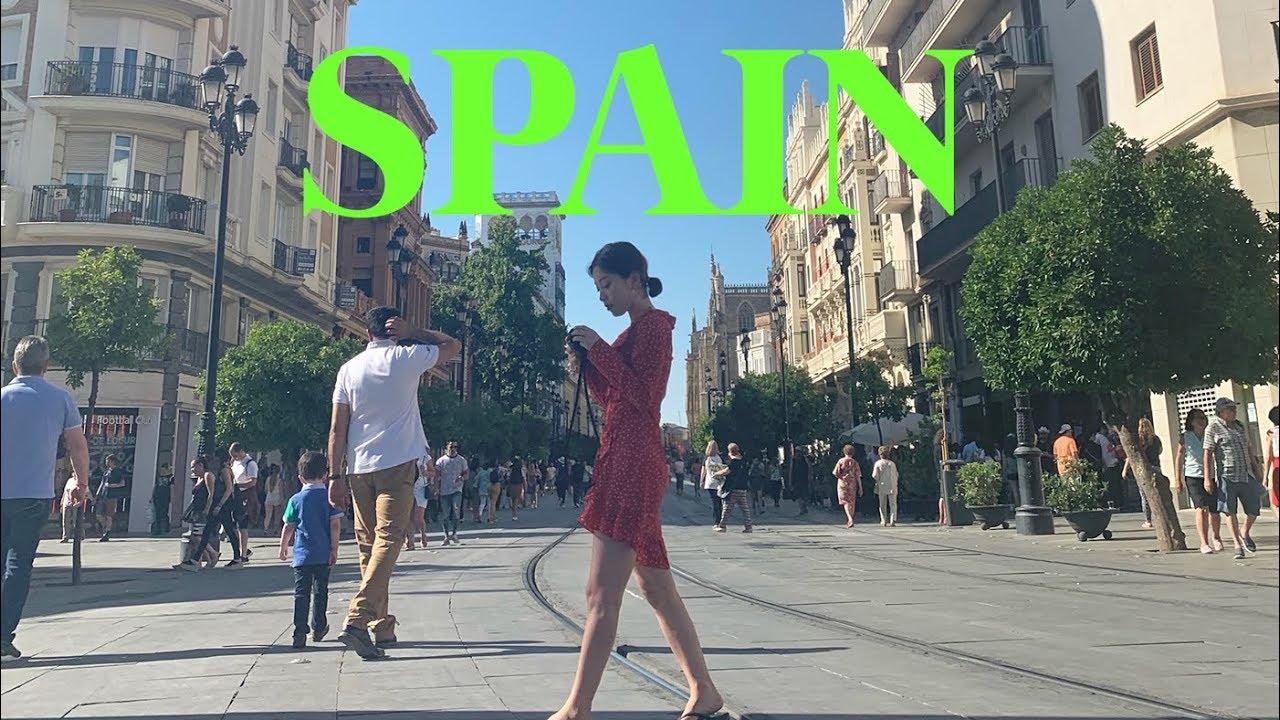 (eng) 🇪🇸SPAIN VLOG. 스페인 브이로그 세비야 & 바르셀로나 여행기 1st 🌹 | dear.jerry