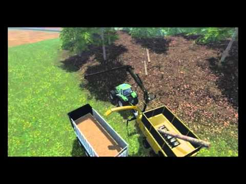 farming simulator 15 teste mod fs 15 n1 crasher machine a copeau - Copeaux De Bois Colors