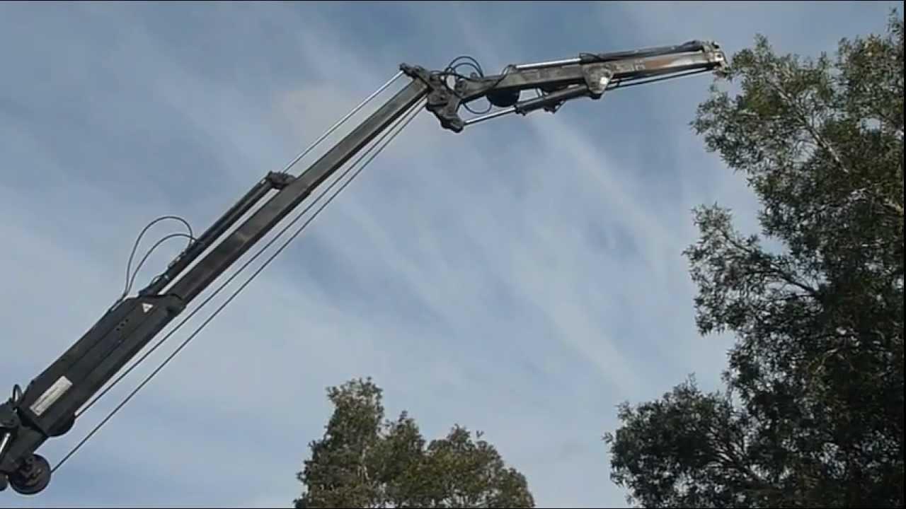 Unimog For Sale >> Mercedes Benz Unimog U1250 Crane Extension - YouTube