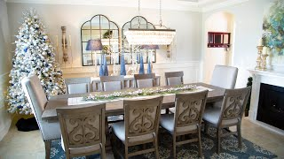12 Days of Christmas | Day 6 | Dining Room Tree & Tour