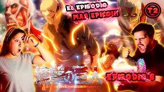 EPICOO!!!| SHINGEKI NO KYOJIN 6 T2 (REACCION) el mejor de toda la serie