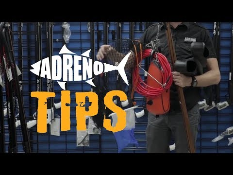 Best Way To Carry Spearfishing Gear | ADRENO