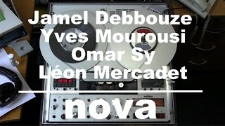 Jamel Debbouze, Yves Mourousi, Léon Mercadet & Omar Sy : 1998 - Les archives de Radio Nova