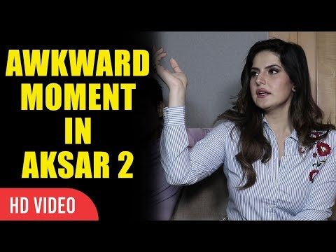 Awkward Moment In Movie Aksar 2 | Zareen Khan | Viralbollywood