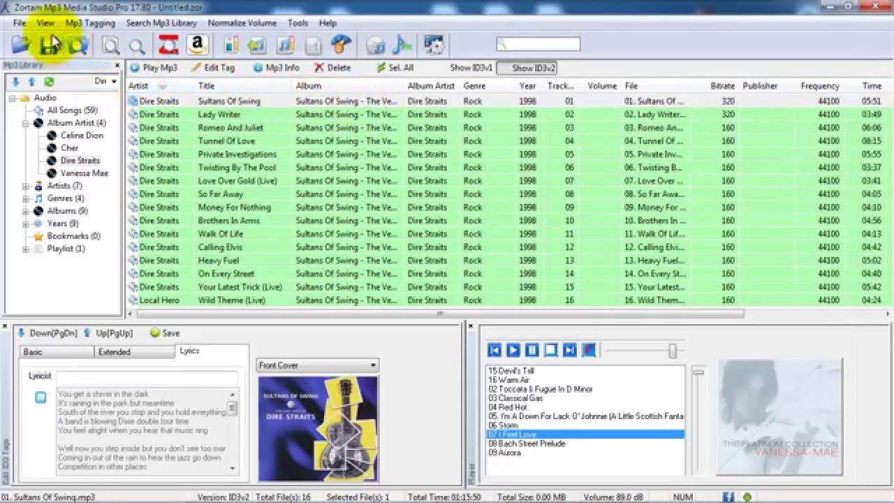 how to add an image to an mp3