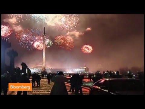 Fireworks in Crimea: Putin Celebrates Annexation