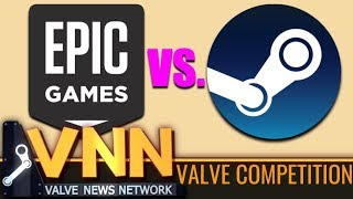 Epic Games is Competing with Valve & Steam