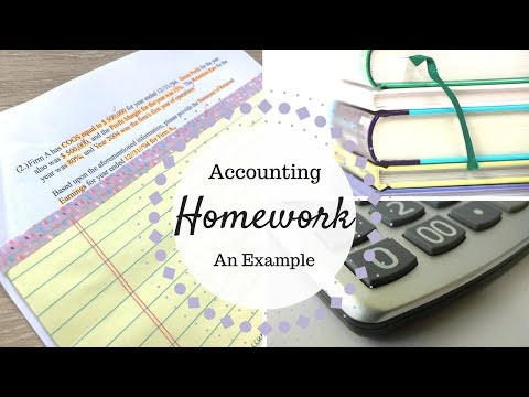 Accounting Homework | Sample Accounting Homework Question | Problem #2 |