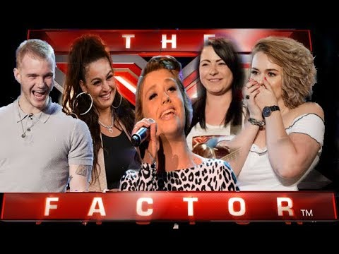 X Factor  own song auditions Best 5 - Compilation with introdution & commentary & BGT  2017