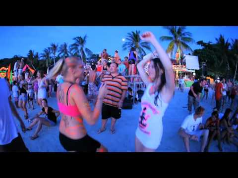Best Beach Party in the World !!! Full Moon Party !!! Koh Phangan, Thailand