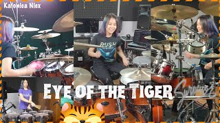 Survivor ~ Eye Of The Tiger | Drum cover by Kalonica Nicx